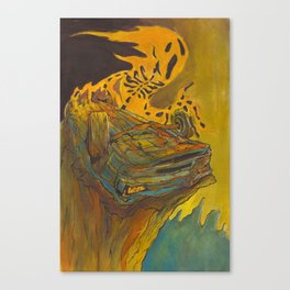 Totalled Canvas Print