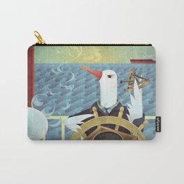 A-Z Animal, Albatross Quartermaster - Illustration Carry-All Pouch