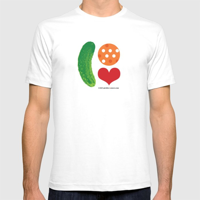 Pickleball Love T Shirt By Picklecouture Society6