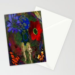 Adam and Eve's Harmonious Earth Stationery Cards