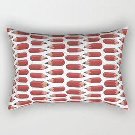 lying pencils Rectangular Pillow