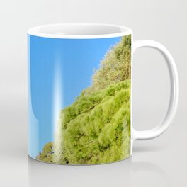 Winter Sun In The Park Coffee Mug