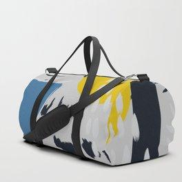 Abstract Falcon // Multi-Colored Duffle Bag