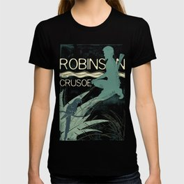 Books Collection: Robinson Crusoe T-shirt