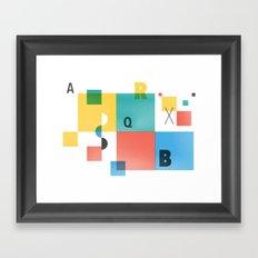 Composition 1 Framed Art Print