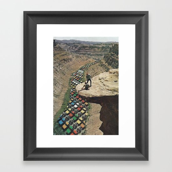 PackLikeSardines  Framed Art Print