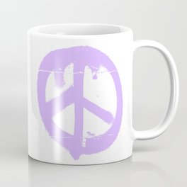 Peace lilac Coffee Mug