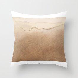 Robinson Crusoe wave Throw Pillow