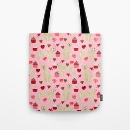 Golden Retriever cute valentines day must have dog gifts pet portraits custom dog lover valentines Tote Bag