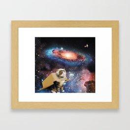 Multidimensional Universal Traverler Framed Art Print