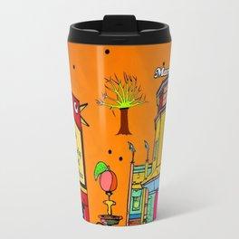 Marietta Popart by Nico Bielow Travel Mug