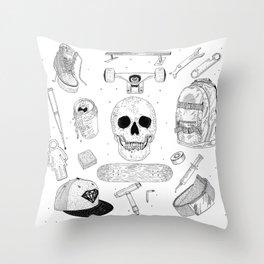 SK8 5tuff Throw Pillow