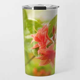 Azalea Il Tasso flowers red Travel Mug