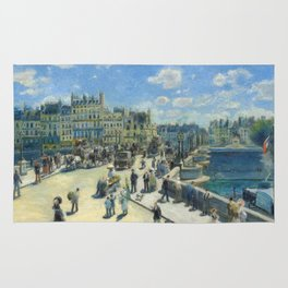 Renoir - Pont Neuf, Paris, 1872 Rug