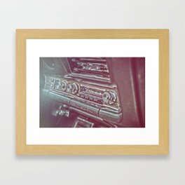 '69 GTO Framed Art Print
