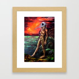 Sailors Take Warning Framed Art Print
