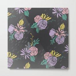 Flora Over Fauna Metal Print