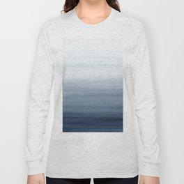 Ocean Watercolor Painting No.2 Long Sleeve T-shirt