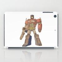optimus prime iPad Cases featuring Optimus Prime by colleencunha