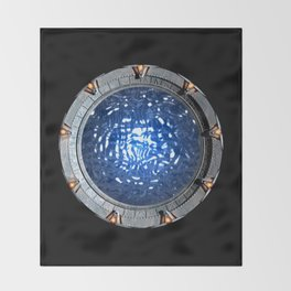 Gate of the Gods Throw Blanket