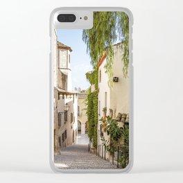 Beautiful Spanish Village Clear iPhone Case