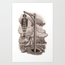Captain Kidd Art Print