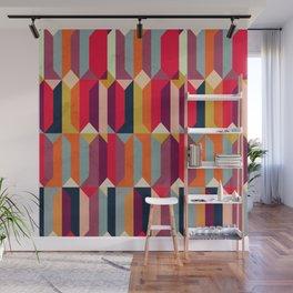 Geometric Icelandic Colors Wall Mural