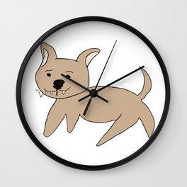 Snork Dog Wall Clock