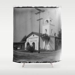 Mission Santa Cruz Shower Curtain