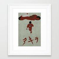 akira Framed Art Prints featuring Akira by JHTY