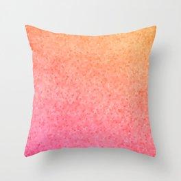 Sea Glass ~ Coral Throw Pillow