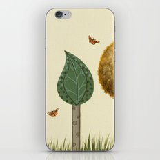 Autumn Butterflies iPhone & iPod Skin