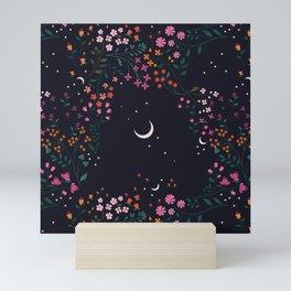 Midnight Garden Mini Art Print