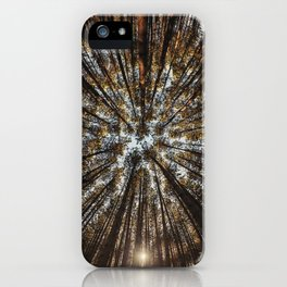 Pines Above iPhone Case