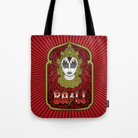 bali Tote Bags featuring Bali Rocks by Roberlan Borges