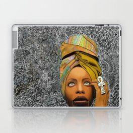 Kween Badu Laptop & iPad Skin