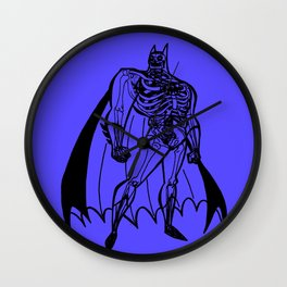 BAT-MAN Skeleton / dark knigt Wall Clock