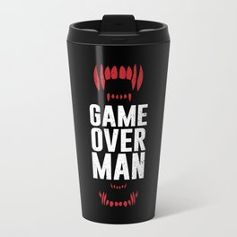 Game Over Man Metal Travel Mug