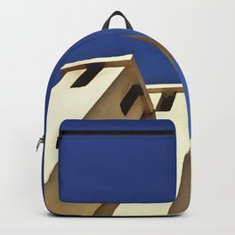 Blue sky, Morocco Backpack