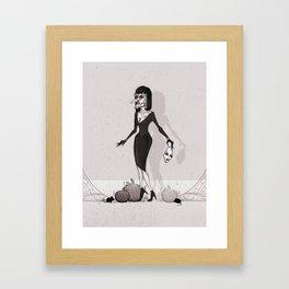 Grand High Witch Framed Art Print