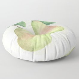 A Pair of Pears Floor Pillow
