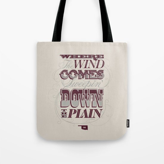 Sweepin' Down The Plain Tote Bag