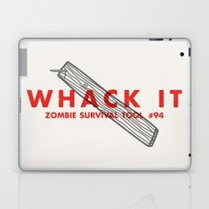 Whack it - Zombie Survival Tools Laptop & iPad Skin
