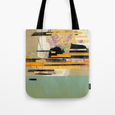 Kung Fu City Tote Bag