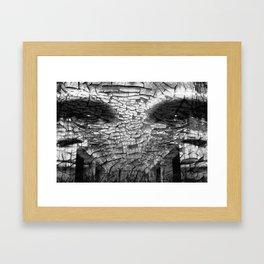 Surreal Gorilla into shadows Framed Art Print