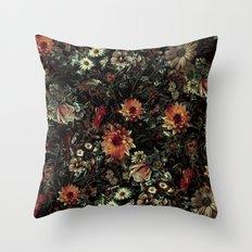 Vintage Garden IV Throw Pillow