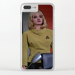 Yeoman Smith from 2nd TOS pilot episode Clear iPhone Case