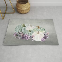Colorful Fall Harvest Rug