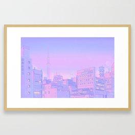 Sailor City Framed Art Print