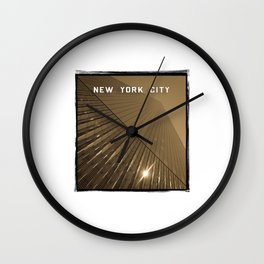 World Trade Center Reborn - New York City Wall Clock